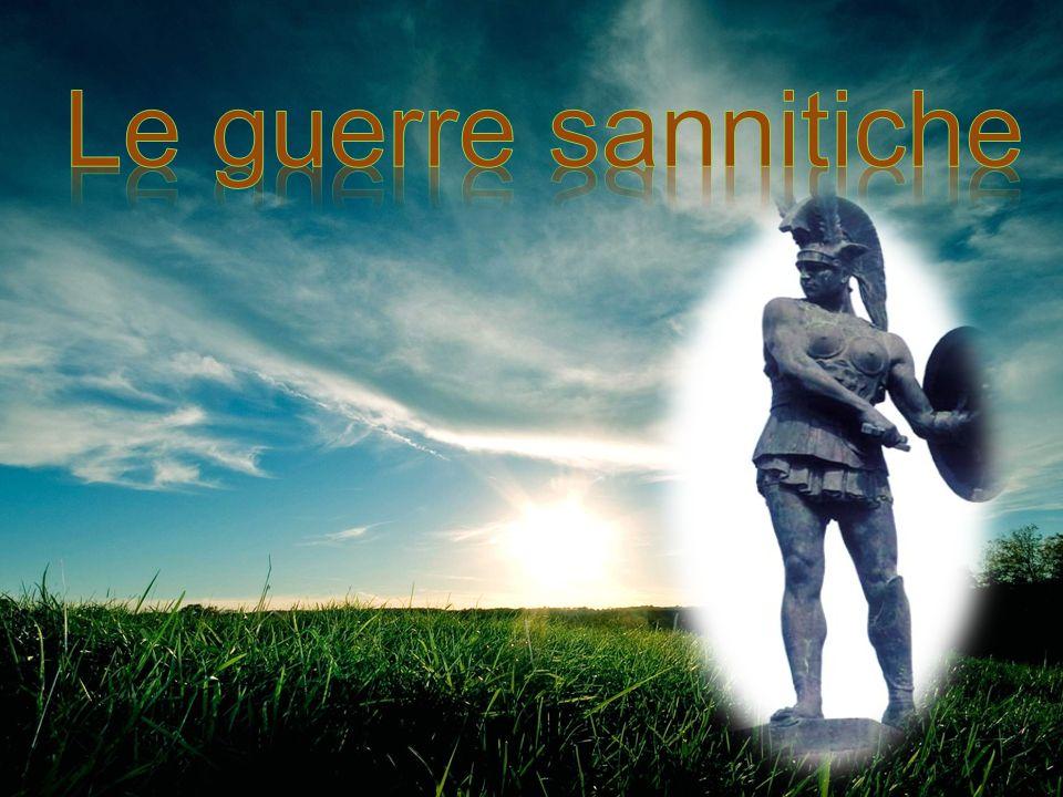 I guerra sannitica: (343-341 a.C) + Causa della guerra fu l attacco di Capua da parte dei sanniti.