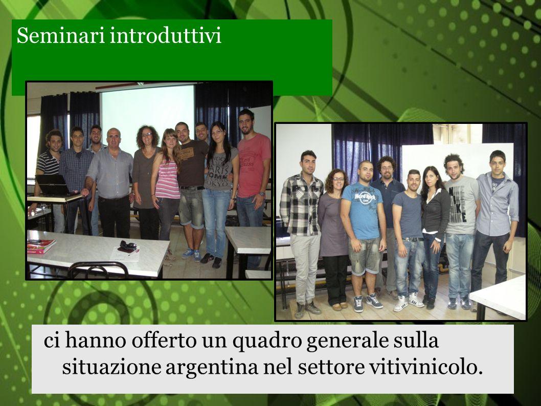 Cantina la Rural e Luigi Bosca: spiccata propensione allenoturismo; produzioni di qualità (prodotto in bottiglia) e orientamento ai mercati esteri.