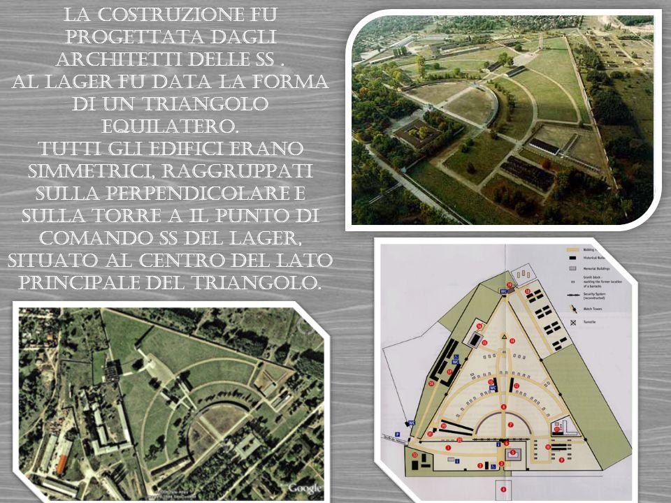 Il campo era recintato da mura e da filo spinato per non fare evadere i prigionieri.