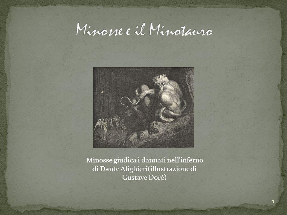 1 Minosse giudica i dannati nellinferno di Dante Alighieri(illustrazione di Gustave Doré)