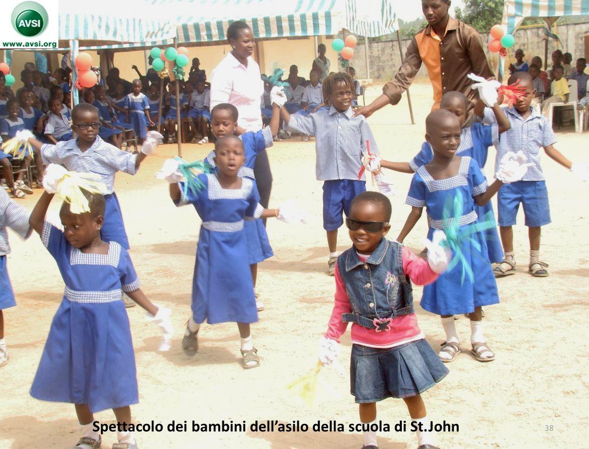 Spettacolo dei bambini dellasilo della scuola di St.John 38