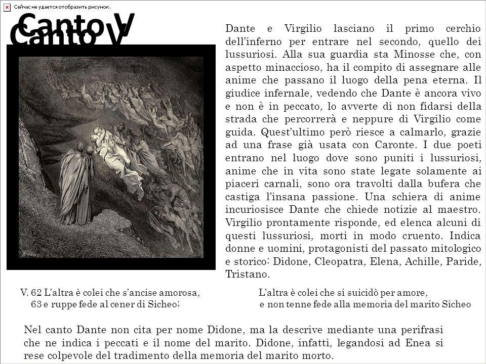 Dante e Virgilio lasciano il primo cerchio dellinferno per entrare nel secondo, quello dei lussuriosi. Alla sua guardia sta Minosse che, con aspetto m
