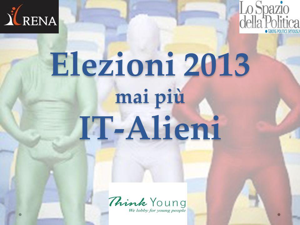 Elezioni 2013 mai più IT-Alieni