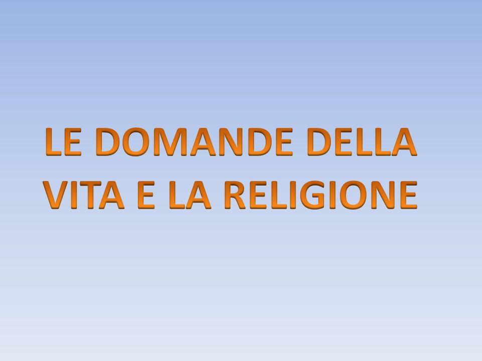RISPOSTE POSSIBILI: -AGNOSTICISMO: è latteggiamento di chi sospende il proprio giudizio in merito ai problemi posti dalla religione.