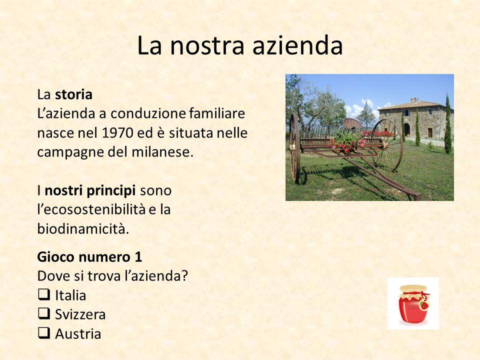 La nostra azienda La storia Lazienda a conduzione familiare nasce nel 1970 ed è situata nelle campagne del milanese.