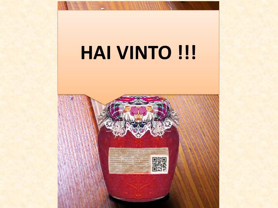 HAI VINTO !!!