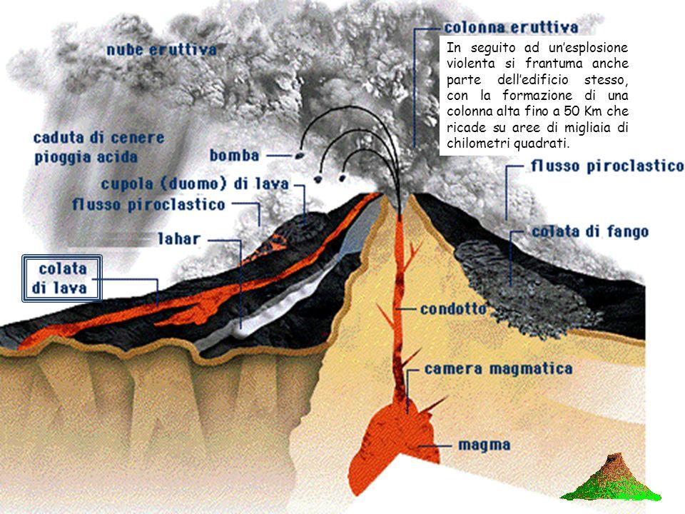 Il flusso piroclastico è formato da materiale solido frantumato ed espulso in aria da uneruzione vulcanica esplosiva. I prodotti piroclastici si class