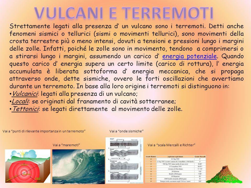 I fenomeni pseudovulcanici o vulcanesimo secondario sono fenomeni strettamente legati all attività di un vulcano e sono: Fumarole: emissioni di gas e