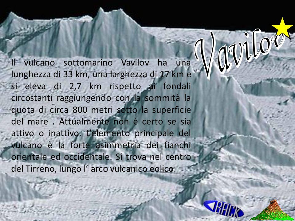 Vavilov Vulcani terrestri Isole vulcaniche Vulcani marini Isole Vulcaniche Sottomarine