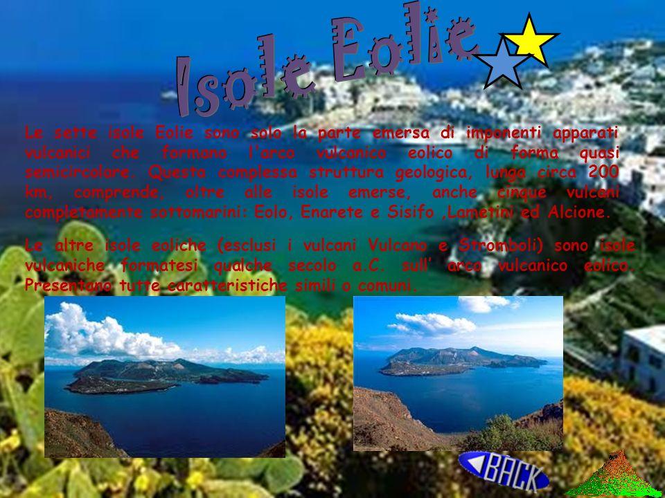 Altre Isole Eolie Vulcani terrestri Isole vulcaniche Vulcani marini Isole Vulcaniche Sottomarine