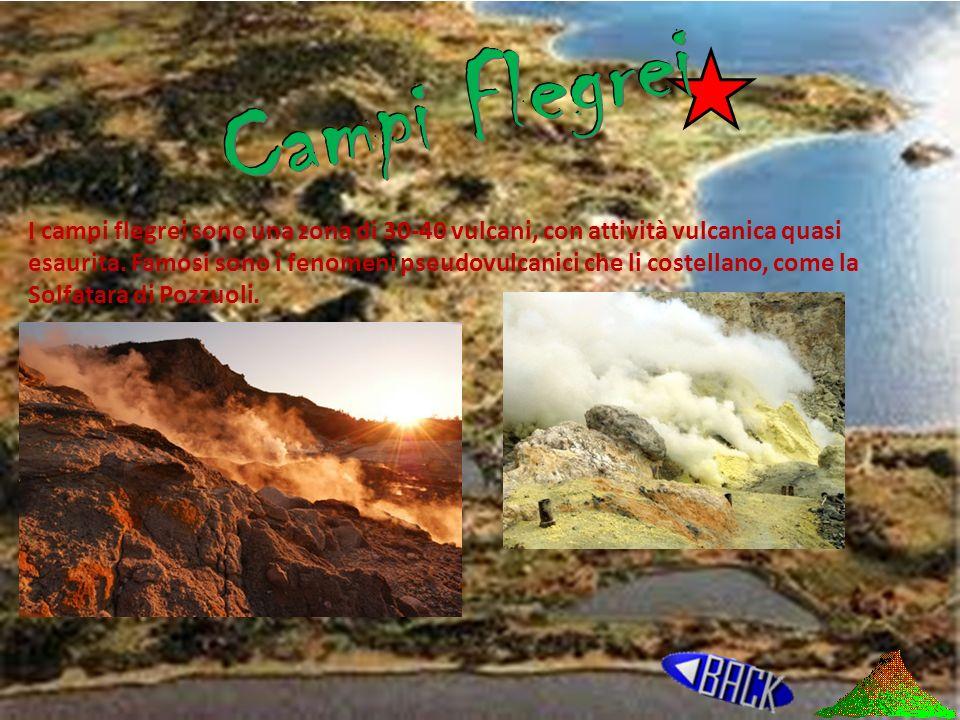 Campi flegrei Vulcani terrestri Isole vulcaniche Vulcani marini Isole Vulcaniche Sottomarine