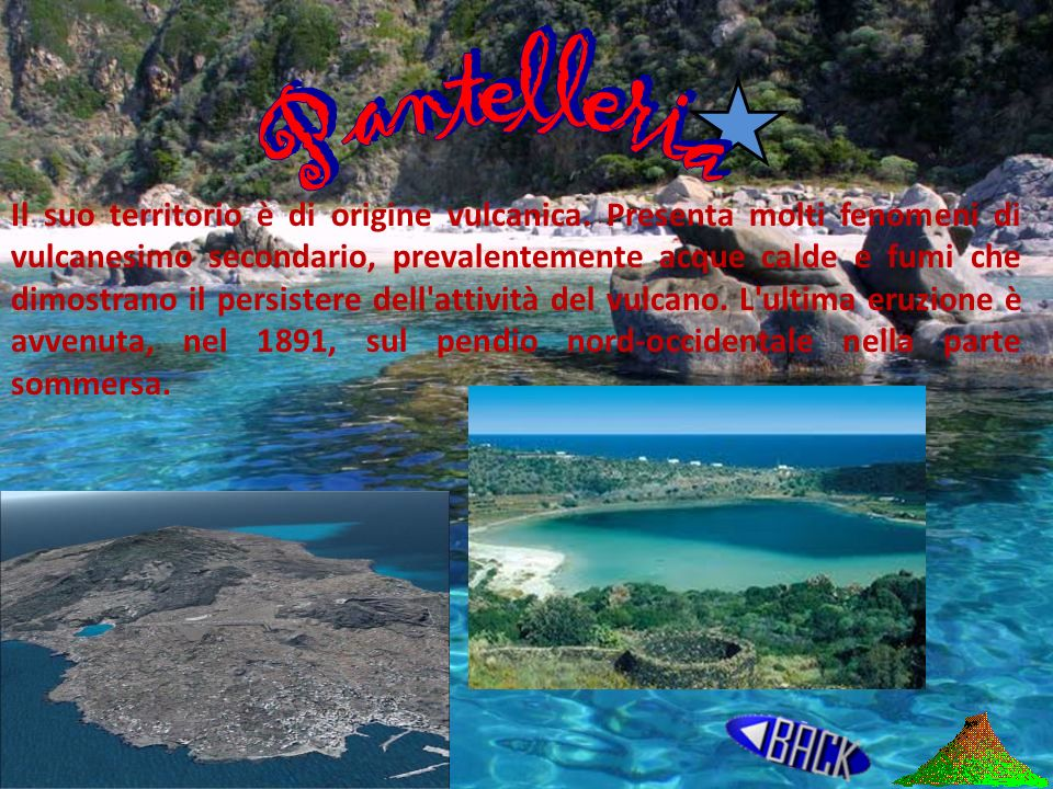 La piana abissale tirrenica, a quasi 3500 metri di profondità è dominata da 3 vulcani, il Magnaghi, Vavilon e Marsili. Il Magnaghi, che ha avuto origi