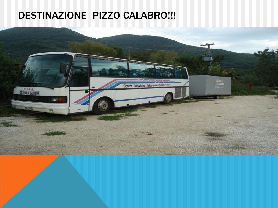 DESTINAZIONE PIZZO CALABRO!!!