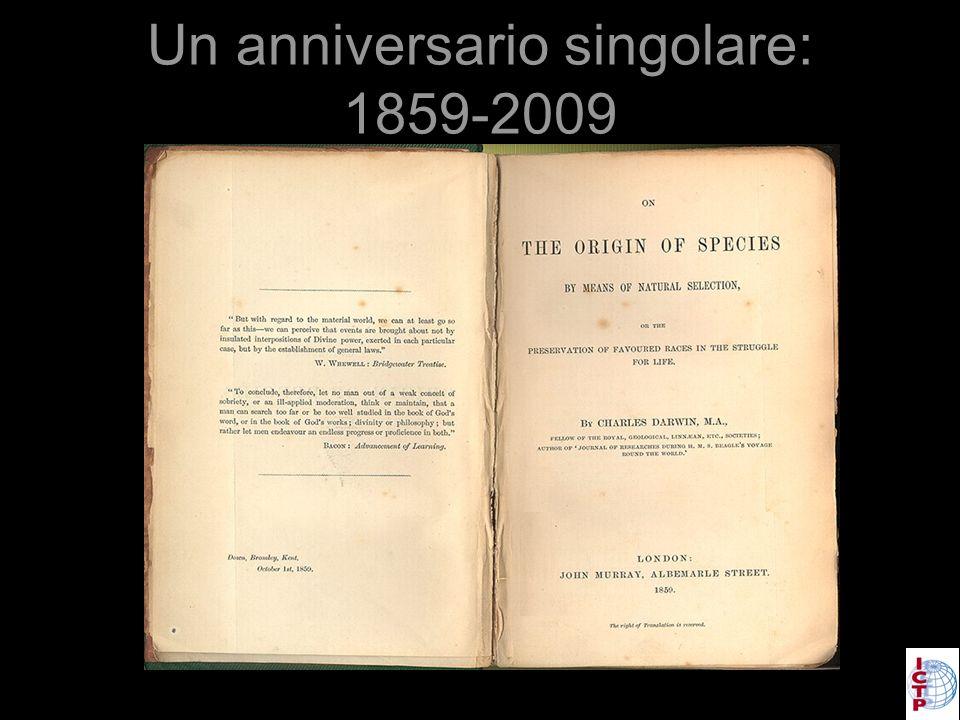Un anniversario singolare: 1859-2009