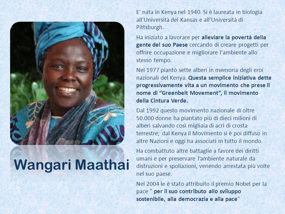 E nata in Kenya nel 1940.