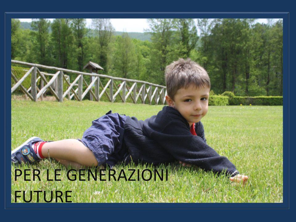SOSTENIBILITA PER LE GENERAZIONI FUTURE