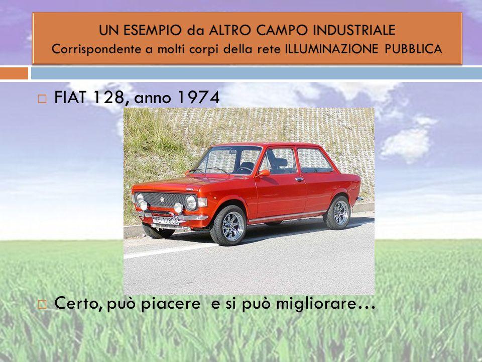 FIAT 128, anno 1974 Certo, può piacere e si può migliorare…