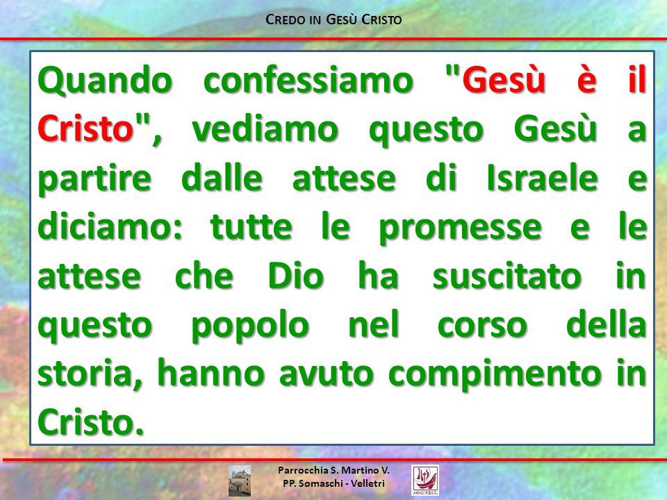 Parrocchia S. Martino V. PP. Somaschi - Velletri Quando confessiamo