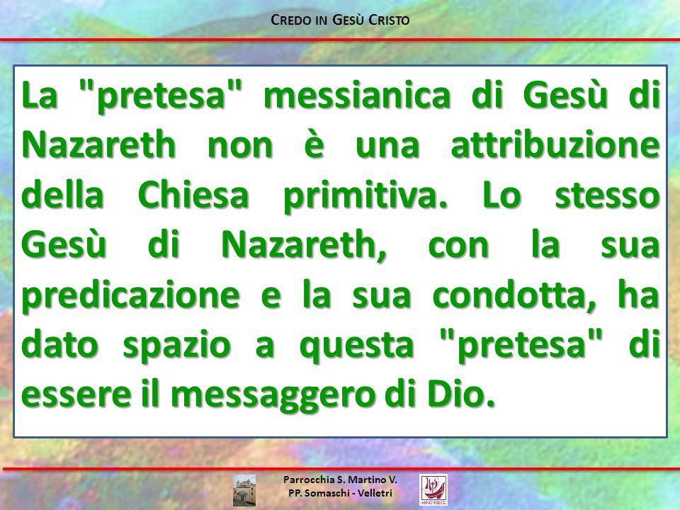 Parrocchia S. Martino V. PP. Somaschi - Velletri La