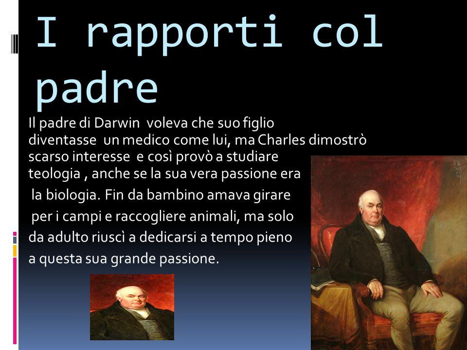 Nascita di Darwin Darwin nacque nel 1809 a Shrewsbury, dove frequentò la school Shrewsbury, dai nove ai sedici anni. Ebbe la fortuna di nascere in una