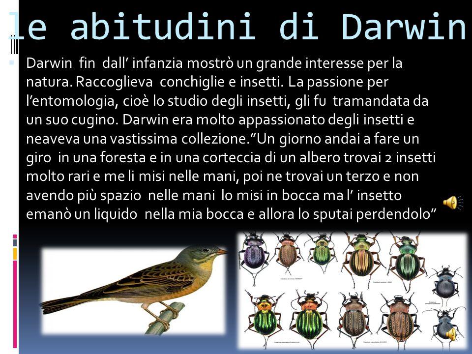 I rapporti col padre Il padre di Darwin voleva che suo figlio diventasse un medico come lui, ma Charles dimostrò scarso interesse e così provò a studi