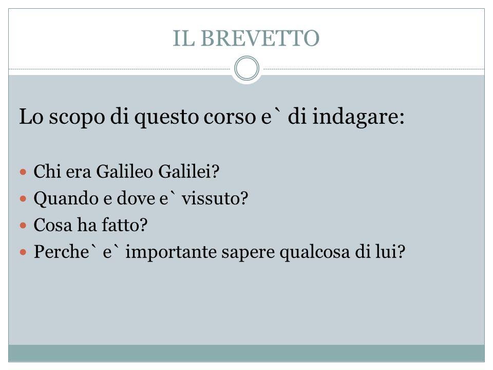 Chi era Galileo Galilei.