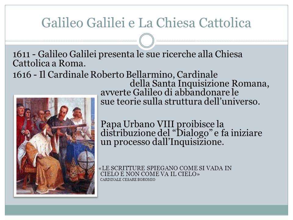 Galileo Galilei e La Chiesa Cattolica