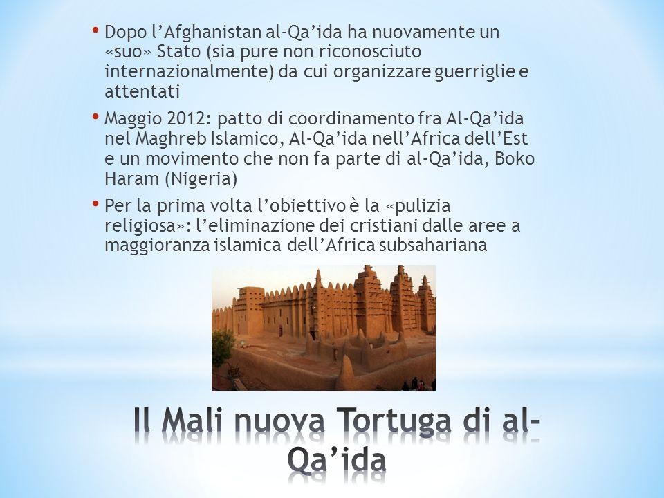 Dopo lAfghanistan al-Qaida ha nuovamente un «suo» Stato (sia pure non riconosciuto internazionalmente) da cui organizzare guerriglie e attentati Maggi