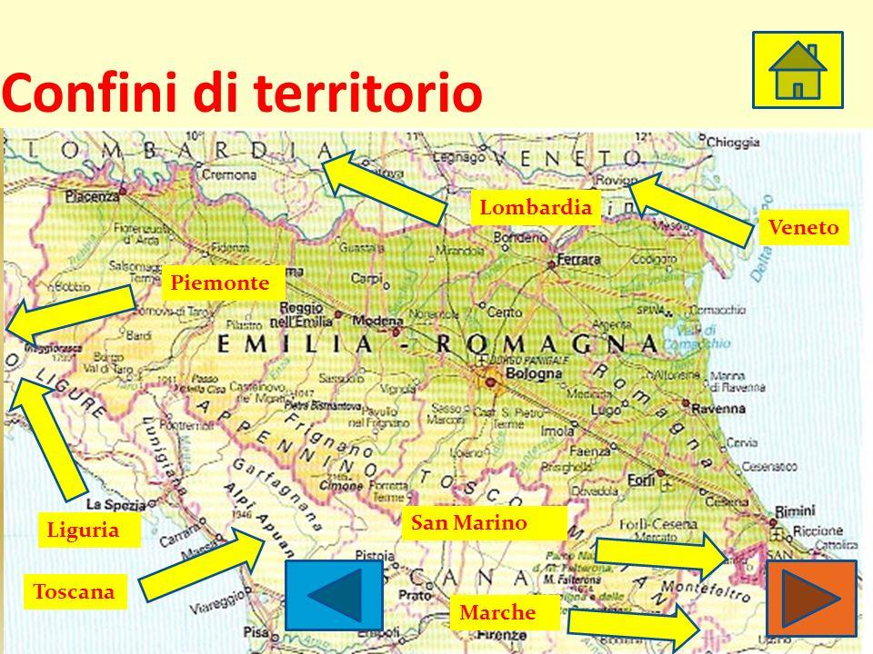 Curiosità La Ferrari I confini di territorio I confini di territorio Località turistiche
