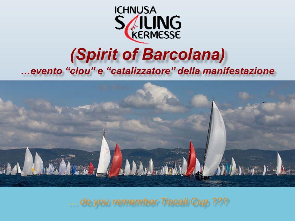 …e infine N° 4 LA KERMESSE LA KERMESSE Grande raduno aperto a tutte le barche a vela nello spirito della famosa BARCOLANA Una vera regata aperta a tutte le classi lungo un percorso costiero di circa 10÷12 Nm nel Golfo di Cagliari (Spirit of Barcolana)