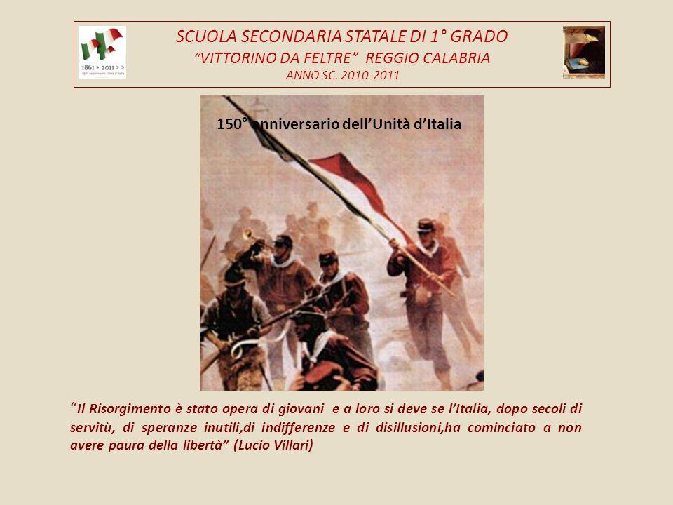 SCUOLA SECONDARIA STATALE DI 1° GRADO VITTORINO DA FELTRE REGGIO CALABRIA ANNO SC.