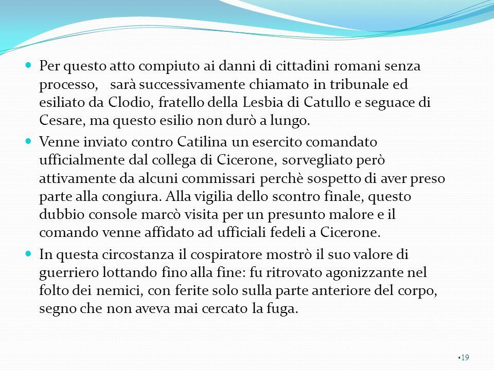 http://it.wikipedia.org/wiki/Guerra_civile_romana_(49-45_a.C.) La Guerra civile romana del 49 a.C., nota anche come Guerra civile di Cesare, è uno degli ultimi conflitti sorti all interno della Repubblica Romana.