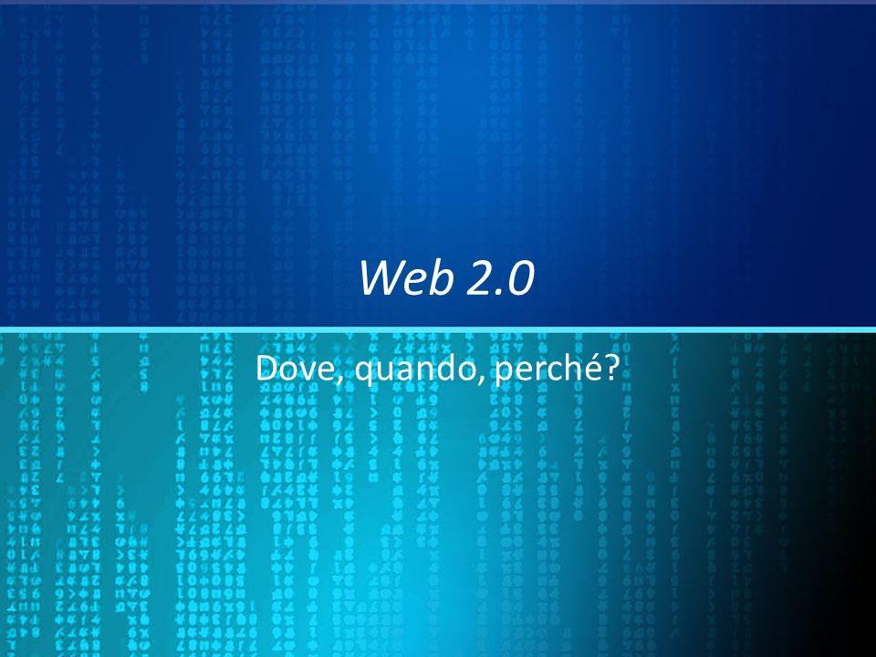 Internet si è sviluppata così Web 1.0 = Reticolare Non sequenziale Web 1.0 = Reticolare Non sequenziale