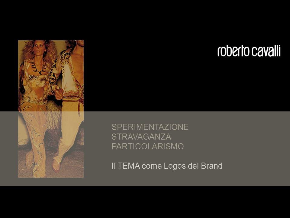 SPERIMENTAZIONE STRAVAGANZA PARTICOLARISMO Il TEMA come Logos del Brand