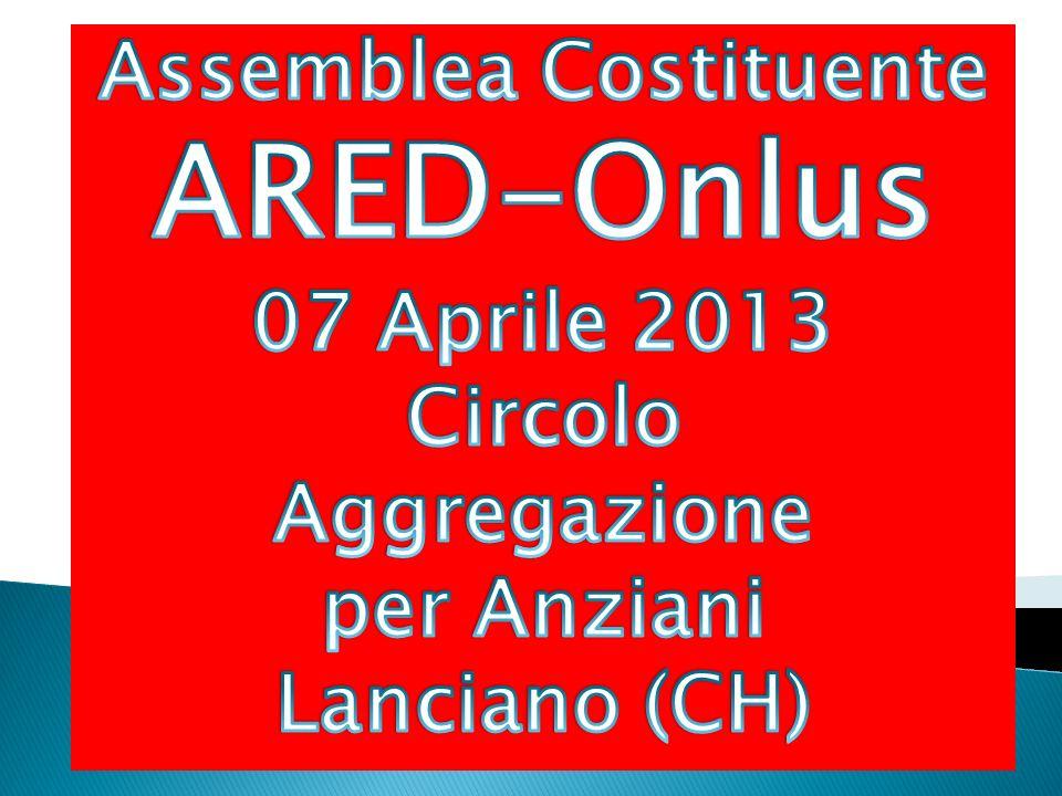 ared.abruzzo@libero.it www.aredabruzzo.it (in fase di realizzazione) 3382425493 Giulio BOMBA, President e 3285764932 Bruno PANTALEONE, Segretario Generale