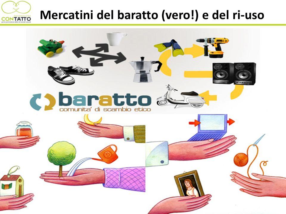 Mercatini del baratto (vero!) e del ri-uso