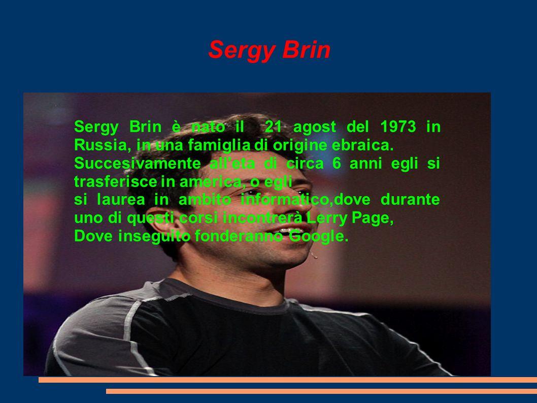 Google (introduzione) Google è un motore di ricerca fondato da Sergy brin e Lerry Page nel 1997, inseguito venne inseguito venne creata anche un azienda pro- prietria del medesimo sito avente lo stesso nome nel 1997.
