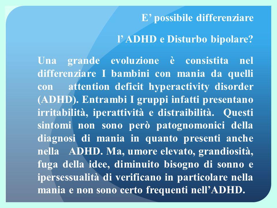 Osservazione prospettica di bambini con depressione maggiore Barbara Geller et al, AJP, 2001 72 bambini affetti da depressione maggiore con esclusione