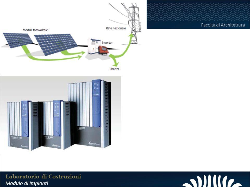 LABORATORIO DI COSTRUZIONI 25 FEBBRAIO 2011 Laboratorio di Costruzioni Modulo di Impianti Facoltà di Architettura