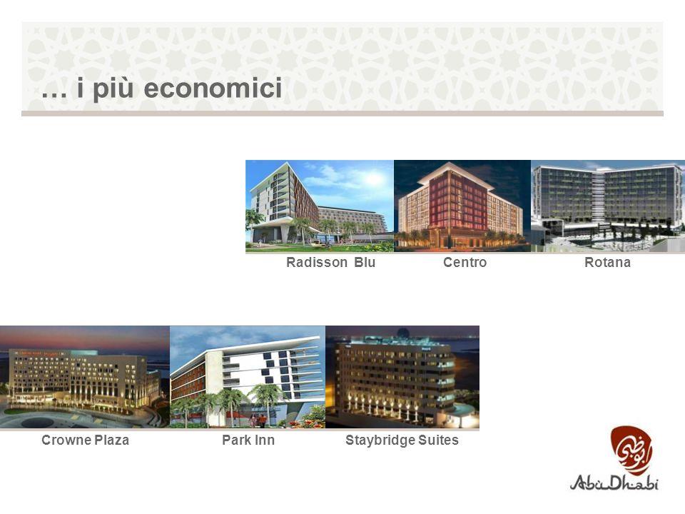 … i più economici RotanaCentroRadisson Blu Park InnCrowne PlazaStaybridge Suites