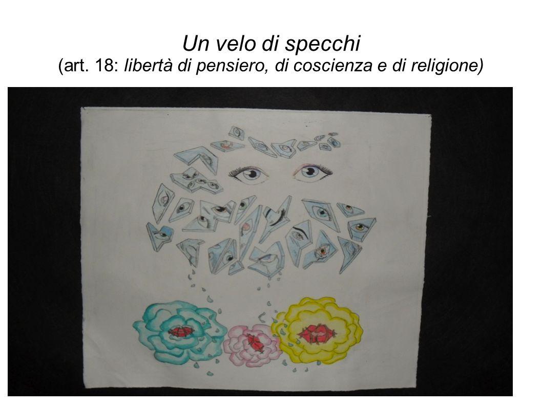 Un velo di specchi (art. 18: libertà di pensiero, di coscienza e di religione)