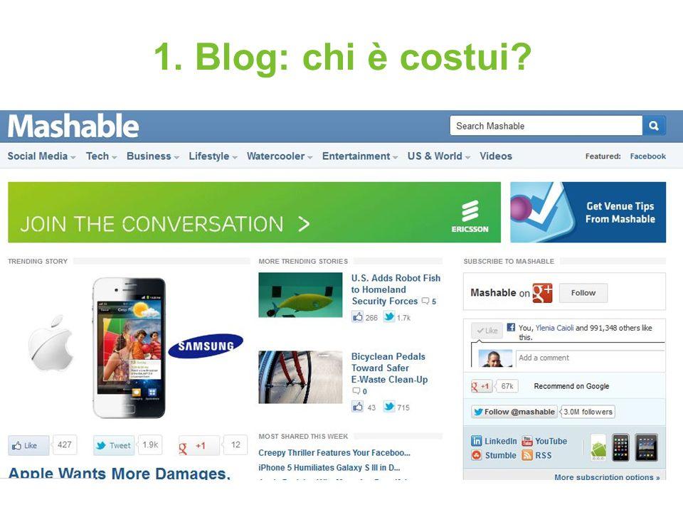 Blog, carta e penna Dove e come Il progetto del nostro blog 3