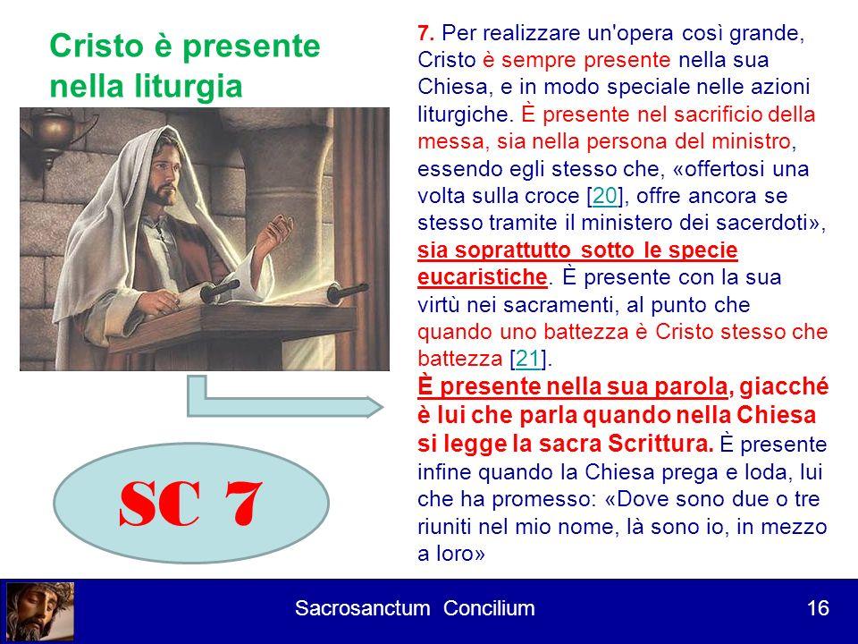 Corso per lettori 1° Intervento Culmen et fons (10) Culmine La liturgia è il culmine verso cui tende tutta lazione della Chiesa Fonte La liturgia è la fonte da cui promana tutto il suo vigore 17 Sacrosanctum Concilium 17