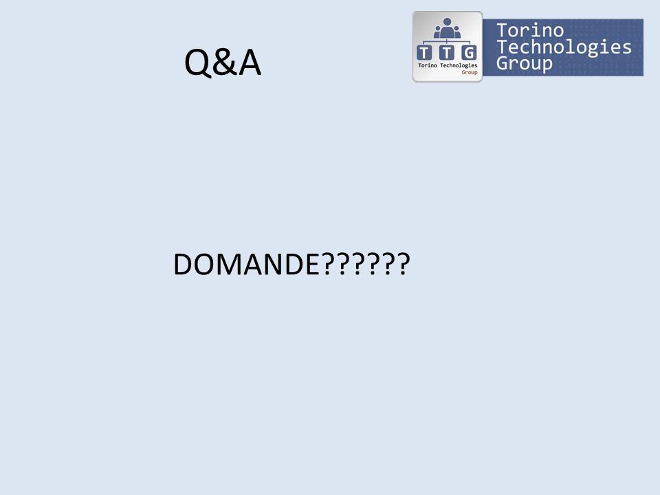 Q&A DOMANDE??????