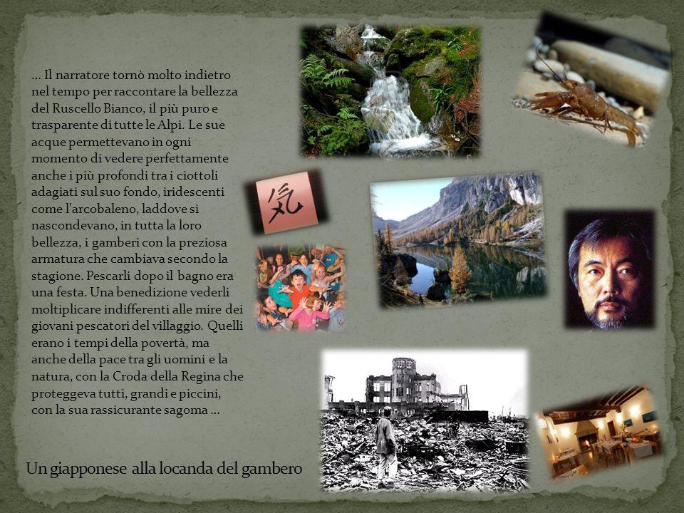 … Il narratore tornò molto indietro nel tempo per raccontare la bellezza del Ruscello Bianco, il più puro e trasparente di tutte le Alpi.