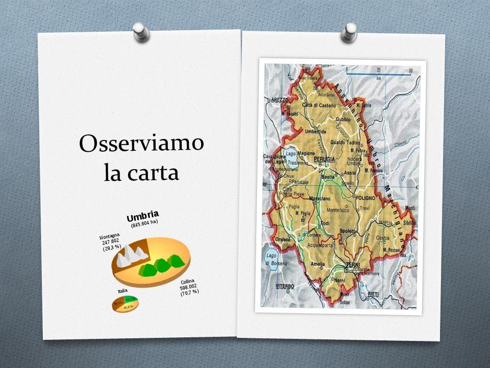 Confini e caratteristiche fisiche E attraversata dallAppennino Umbro-Marchigiano e il suo territorio è per il 71% collinare e per il 29% montuoso.