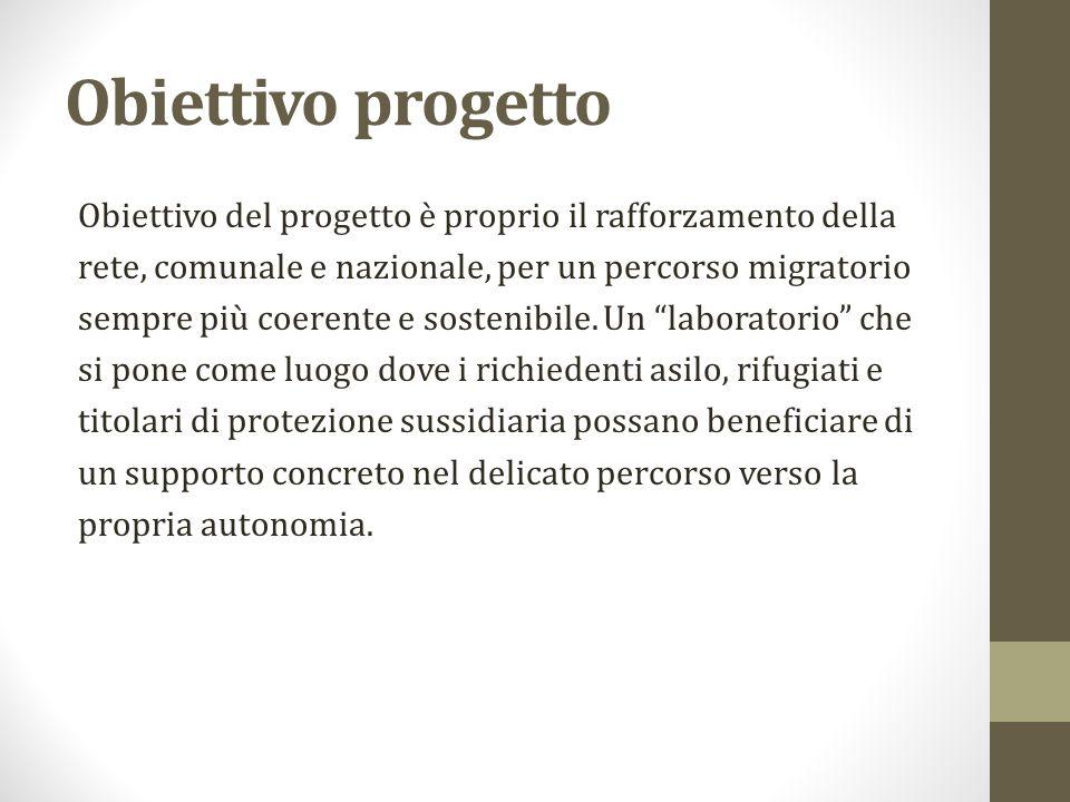 Beneficiari del progetto con Decreto prot.