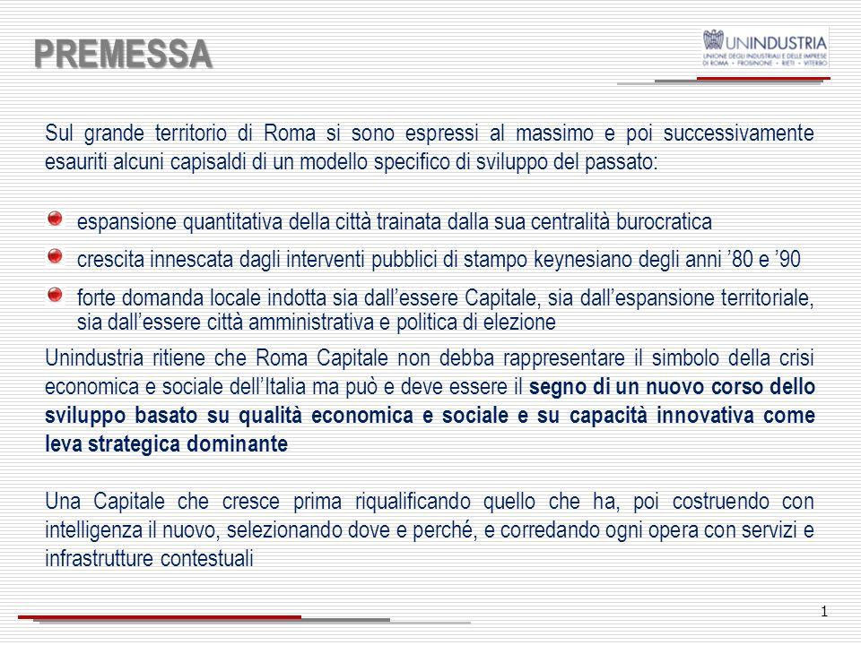 21 AMBITI DI INTERVENTO 10.Cultura, turismo, entertainment e moda (1/2) Passare dalla tutela della cultura alla cultura della tutela: il patrimonio artistico e culturale di Roma è un bene comune da salvaguardare.