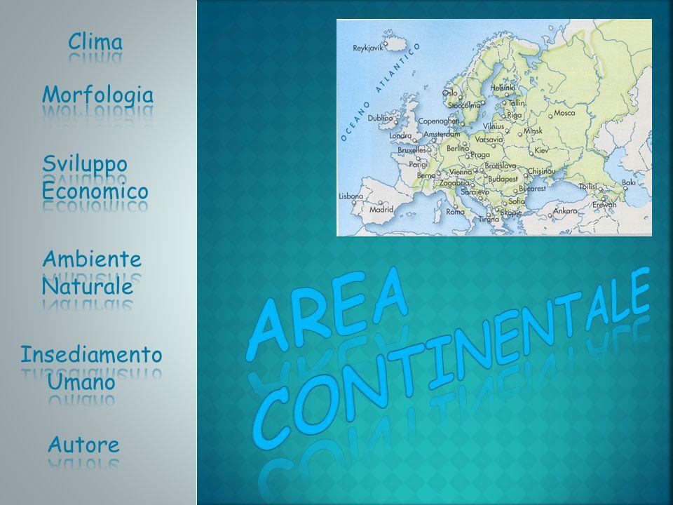 Il clima continentale è il clima tipico della zona interna al subcontinente europeo.