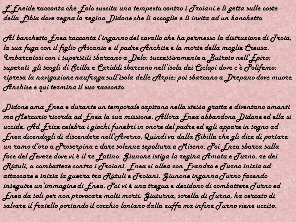 Tra i poeti che hanno scritto poemi epici vi è Publio Virgilio Marone. Egli nacque il 15 di ottobre del 70 a.C. nel villaggio di Andes, vicino Mantova